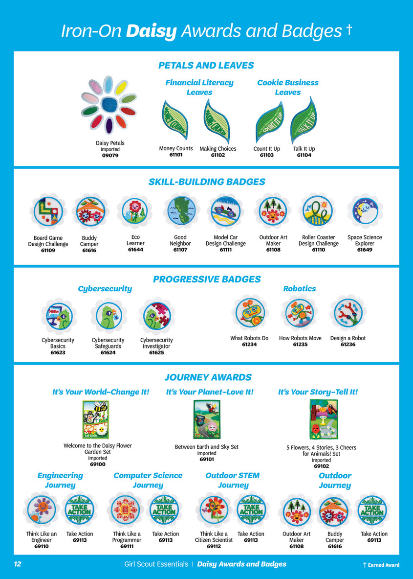 Girl Scout Daisy Journey Badges Topsimages