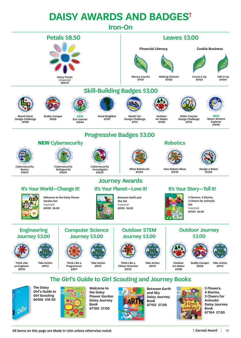 Girl Scouts Of The Usa 2018 Back To Troop Catalog Page 18 19